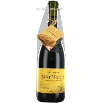 Tarapaca Natura + Red Dry Wine 14.5% 0.75l - buy, prices for CityMarket - photo 2