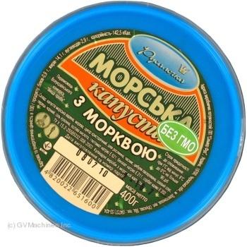 Салат морская капуста Русалочка с морковью 400г - купить, цены на Novus - фото 5