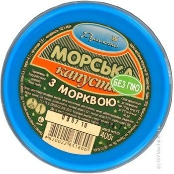 Салат морская капуста Русалочка с морковью 400г - купить, цены на Novus - фото 2