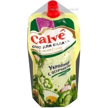 Соус для салатов Calve Кроповий 245г