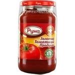 Продукт томатный Руна Золотой томат 490г - купити, ціни на МегаМаркет - фото 5