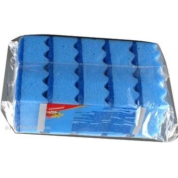 Набор губок кухонных Мелочи жизни Лимон 5шт - купить, цены на Фуршет - фото 3