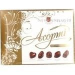 Конфета Житомирские лакомства шоколад с начинкой 275г коробка Украина