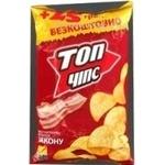 Чипсы Топ чипс с беконом 175г Украина