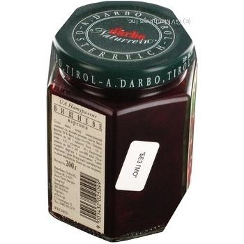 Варенье Дарбо вишневое 200г Австрия - купить, цены на Novus - фото 4