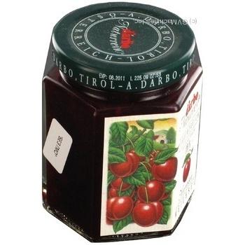 Jam Darbo cherry 200g glass jar Austria - buy, prices for Novus - image 3