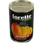Лорелли манго консервированная 425мл железная банка Китай