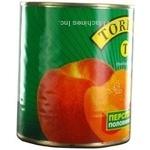 Персик половинки в сиропі Toredo 850мл (ВИРОБНИЦТВО)