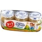 Puree Agusha for children 3pcs 115g