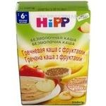 Каша гречана Hipp з фруктами 250г
