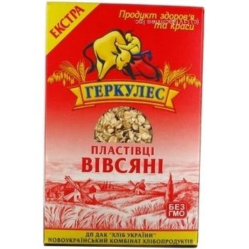 Хлопья овсяные Геркулес Экстра №1 800г Украина