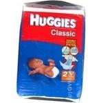 Підгузники Huggies Classic 2 3-6кг 72шт