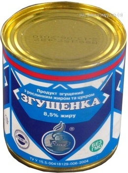 Згущене молоко Білики 8.5% 380г залізна банка Україна