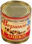 Cream Omka with sugar 19% 360g can Ukraine
