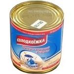 Condensed milk Omka №7 with sugar 8.5% 380g can Ukraine