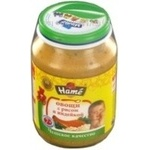 Puree Hame Vegetables with rice and turkey for 7+ month old babies glass jar 190g Czech Republic