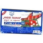 Crab sticks Vodnyi mir precooked 240g Ukraine