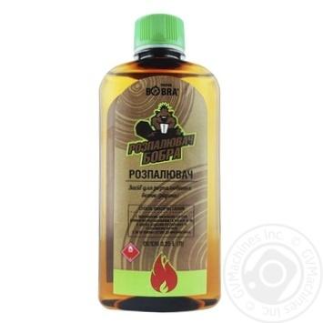 Рідина для розпалювання DROVA BOBRA 0.35л - купити, ціни на МегаМаркет - фото 1
