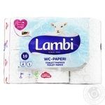 Lambi Decor Toilet Paper 3 layers 6pcs