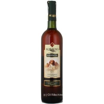 Вино Коблево Клеопатра белое крепкое 17% 0,75л - купить, цены на Novus - фото 3