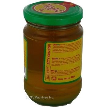Honey Pasika linden 400g glass jar - buy, prices for MegaMarket - image 3