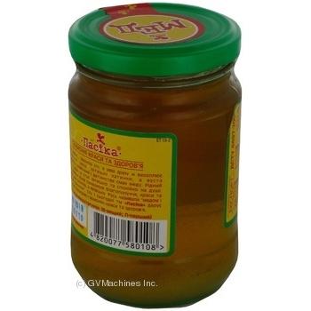 Honey Pasika linden 400g glass jar - buy, prices for MegaMarket - image 2