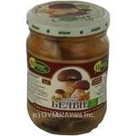 Mushrooms penny bun Charme white pickled 250g glass jar