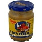 Mustard Olkom Russian 250g glass jar Ukraine