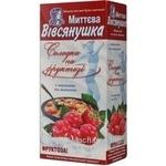 Каша Овсянушка со сливками и малиной на фруктозе 40г х 7шт Украина