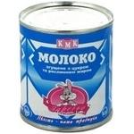 Condensed milk Zarechye condensed milk 8.5% 400g can Ukraine