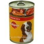Food Pedigree with meat for pets 400g can Austria