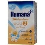Смесь молочная Хумана для детей 500г картонна коробка Германия
