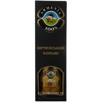 Great Valley Armenian 5 stars cognac 42% 0,7l in box - buy, prices for Novus - image 1