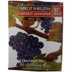 Wine cabernet sauvignon Alianta red dry 12% 3000ml tetra pak Moldova