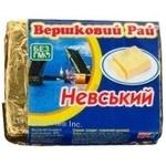 Сыр Вэршковый рай Невский плавленный 60% 90г Украина