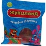 Candy Zhuvilend Khitovi zviryashky jelly 100g packaged Ukraine