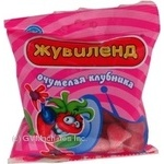 Candy Zhuvilend Shalena polunytsya jelly 100g packaged Ukraine
