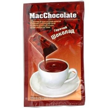 Горячий шоколад Маккофе с шоколадом растворимый 25г Сингапур