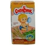 Puree Spelenok rice for children 125ml Russia