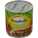 Vegetables pea Bonduelle canned 400g can Hungary