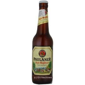 Пиво Paulander нефильтрованное 0,33л