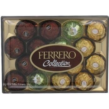 Цукерки Ferrero Колекція 170г