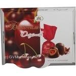 Конфета Конти Вишня в шоколаде шоколад вишня 270г коробка Украина