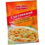 Суп Podravka из телятины с мясом и вермишелью 60г