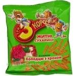 Сухари Три корочки ржаная с холодцом 40г Украина