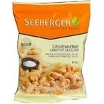 Nuts cashew Seeberger added some salt 150g