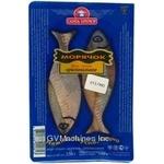 Fish herring Santa bremor Moryachok preserves 250g vacuum packing Belarus