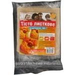 Тісто напівфабрикат 500г Україна