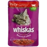 Whiskas With Beef In Sause For Adult Cats Food - buy, prices for Furshet - image 6