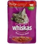 Корм для котов Whiskas с говядиной в соусе 100г - купить, цены на Фуршет - фото 6